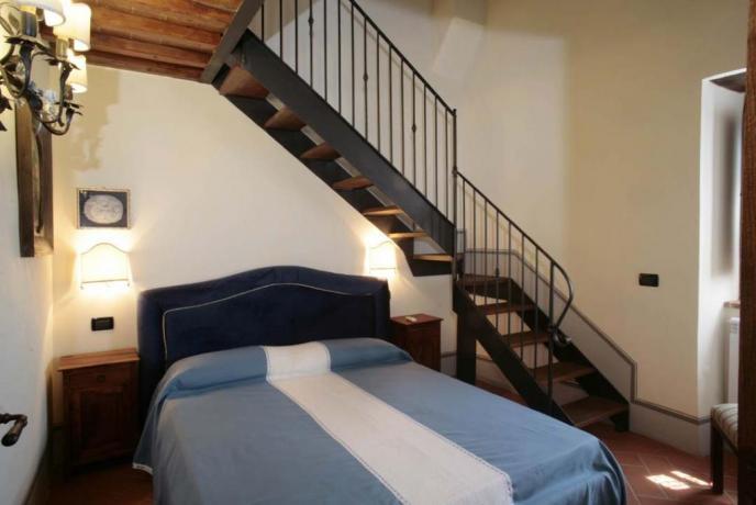 Casale vacanze Giglio 3posti letto con soppalco Arezzo