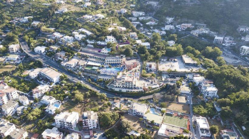 Hotel Superior Ischia vista dall'alto