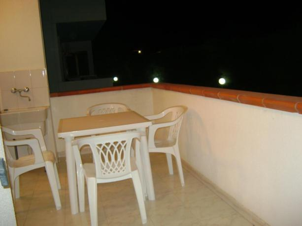 Residence con camere con balcone vicino Gallipoli