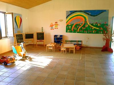 Zona artistica per i più piccoli