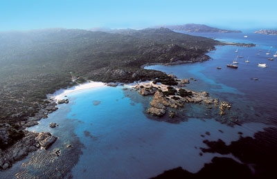 Hotel on the island of Maddalena