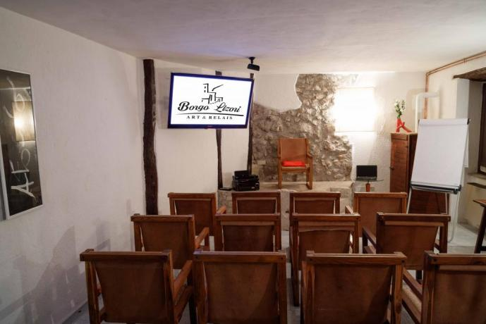 Sala-conferenze meeting in Borgo sul Clitunno Umbria