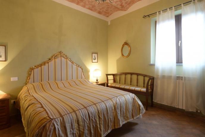 Camera matrimoniale il pungitopo a Castiglione del Lago