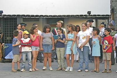 giuria di bambini per premio miglior cortometraggio