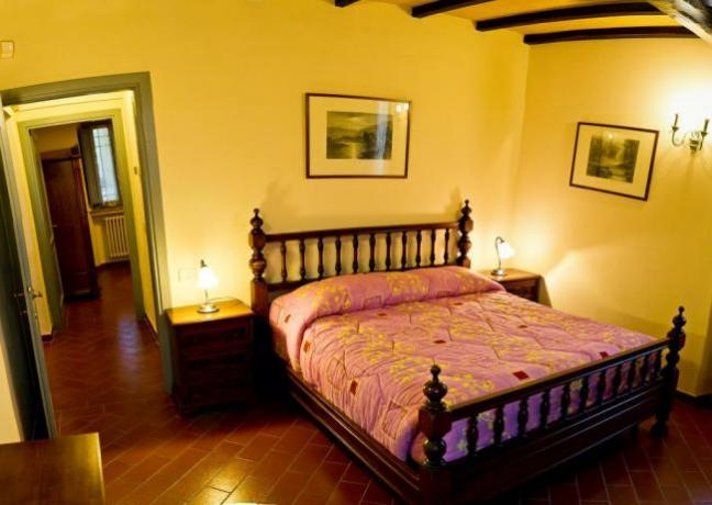 Camera matrimoniale in Residence a Narni