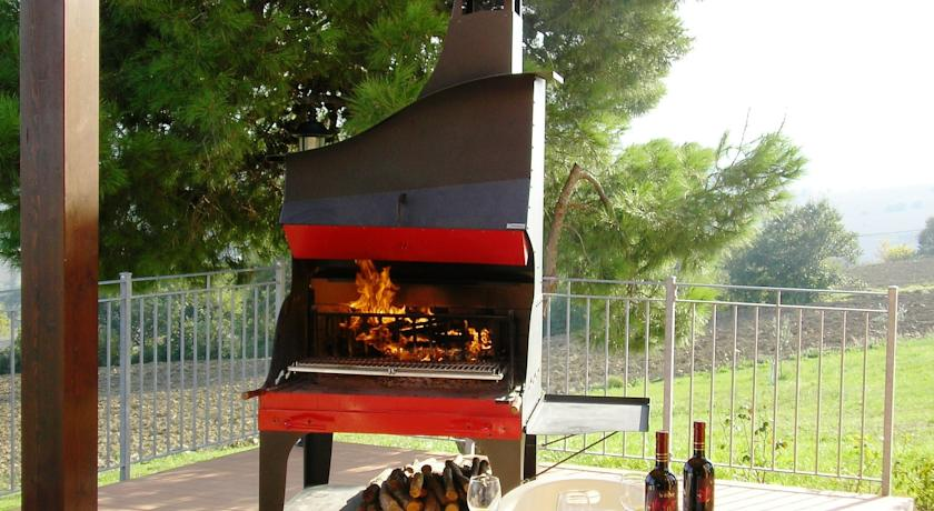 Barbecue per cene all'aperto