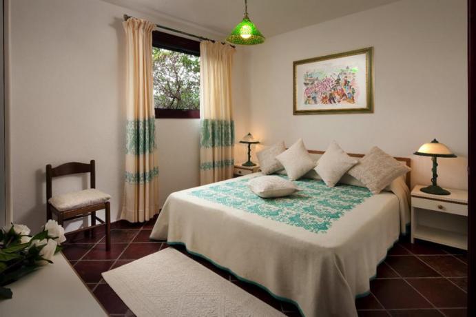 Camera matrimoniale Appartamenti i Graniti a Orosei