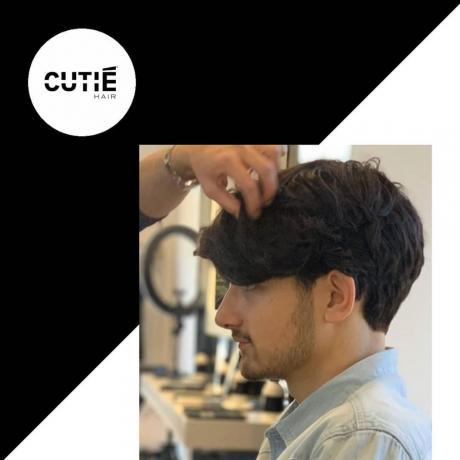 Taglio capello Ragazzo media lunghezza