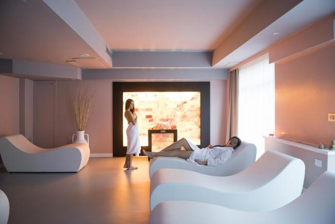 SPA in hotel4stelle con sala relax Manfredonia