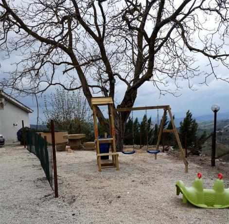 Giochi per bambini: Agriturismo Assisi