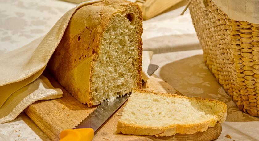 Pane appena sfornato all'Hotel Spa a Norcia