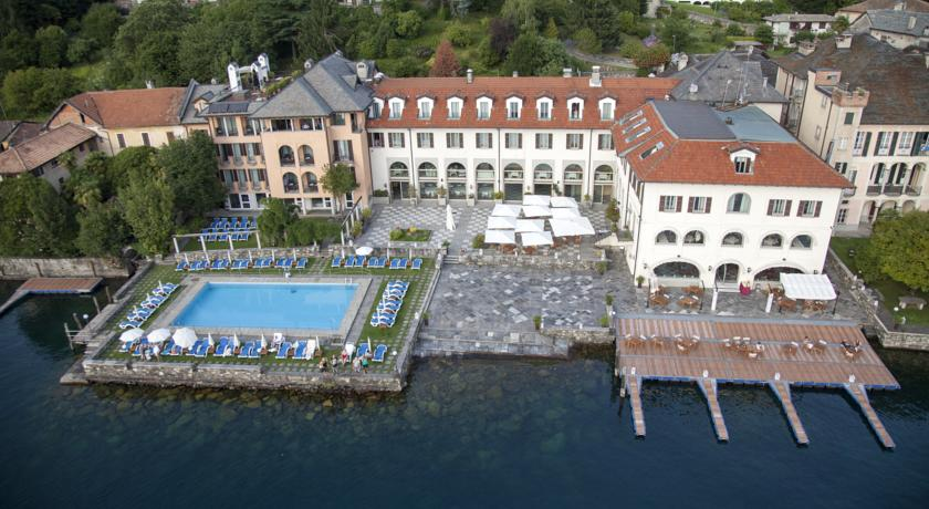 Hotel Relais Lago D'orta con piscina