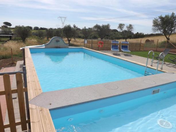 Lazio Agriturismo con piscina scoperta e idromassaggio