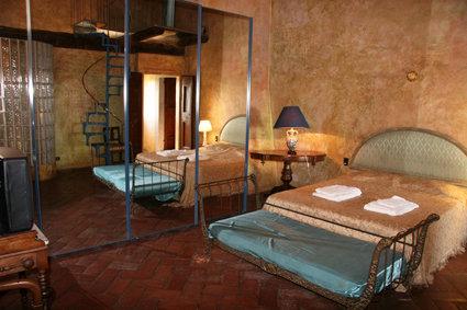 Camera bagno doccia suite verde relais Calenzano