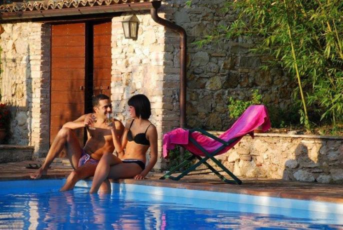 Villa anche per coppia, piscina romantica