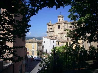 Scorcio di centro storico di Chieti