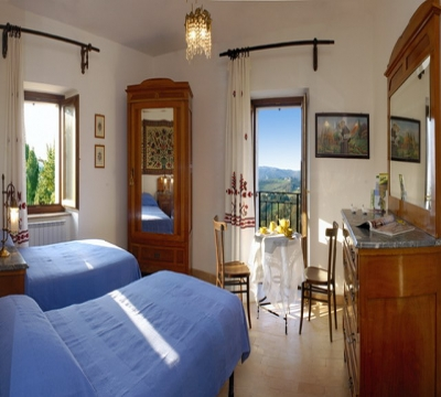 San Damiano Apartment, detail of the double room