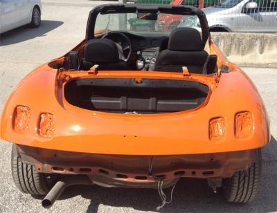 Verniciatura auto d'epoca, restauro a Foligno