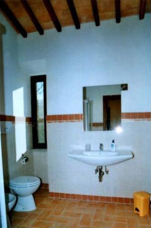 Appartamento Tiglio bagno con doccia