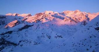 Monte rosa ski-area, one of the best