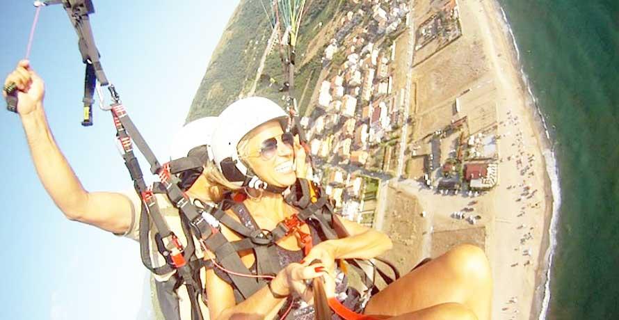 Volo con Parapendio con Foto ricordo