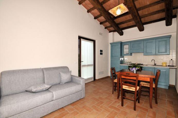 Appartamento Malvasia in agriturismo a Montebuono