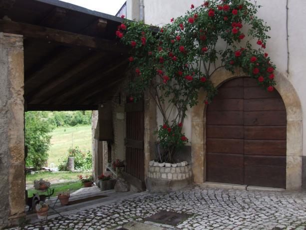 Appartamenti con cortile curato Borgo di San Pio