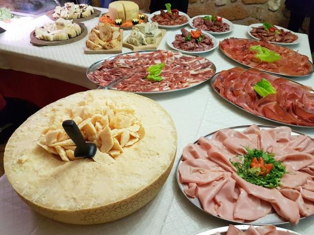 Agriturismo vicino Roma- Buffet