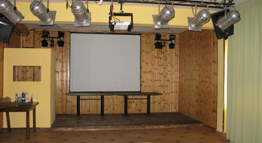 Sala conferenza nel Gran Sasso