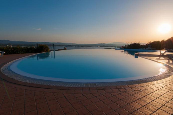 potrete rilassarvi nell'hotel il panorama