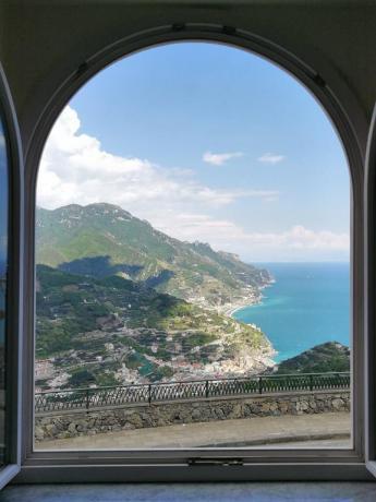 Vista panoramica da appartamento Hotel Ravello