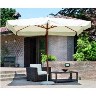 Ombrellone per fiere e mercatini stecche in legno vendita ed ingrosso gazebo e ombrelloni da - Ombrelloni da giardino offerte ...