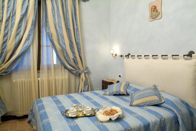 appartamento quercia camera da letto