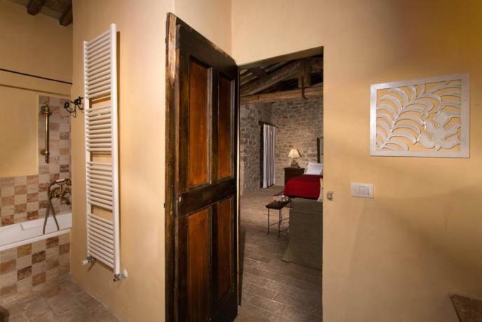 Villa Perugia con camera matrimoniale bagno privato
