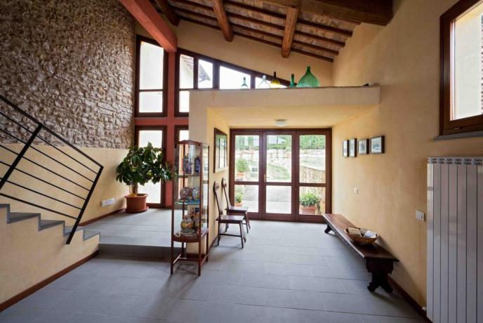 Area ricevimento in casa rurale a Terni