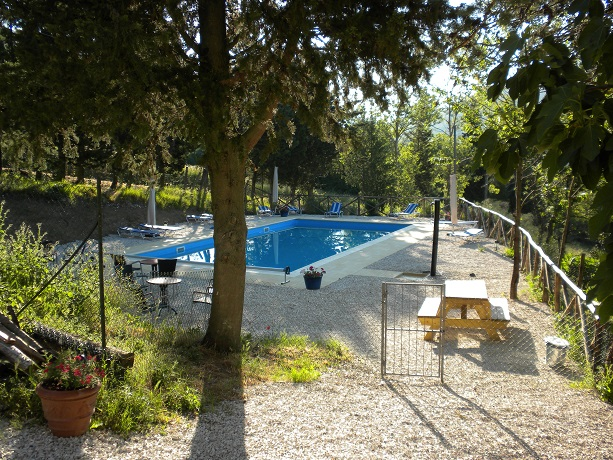 Piscina Panoramica Residence Umbria con Ristorante