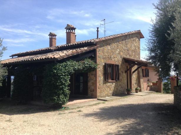 Casale con giardino vicino Todi