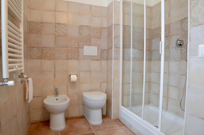 Bagno in camera con servizi B&B vicino Roma