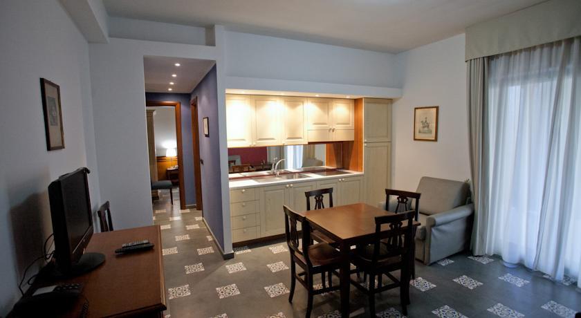 cucina degli appartamenti residence