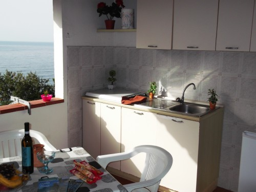 Bungalow con Cucina Vista Mare a Palinuro
