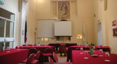 Sala conferenze attrezzata hotel a Todi