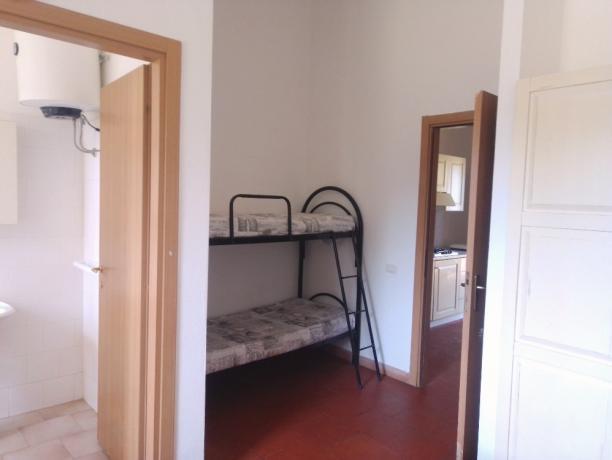 Bungalow 6persone letto a castello centro Sardegna-Oristano