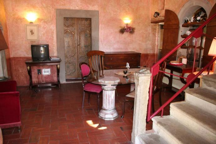 Soggiorno suite Verde relais Calenzano