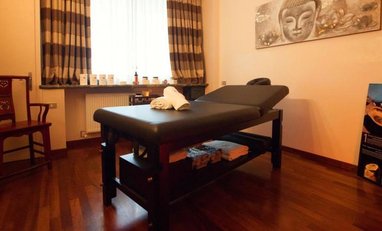 Sala Massaggi in hotel a Porretta Terme