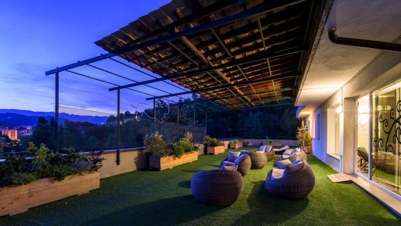 Hotel Emilia-Romagna con terrazza vista panoramica