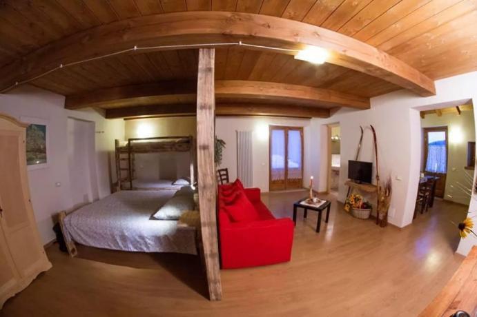 Appartamenti per 4 persone con Tv a Frignano