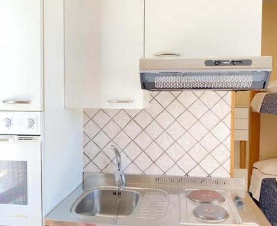 Foto cucina angolo cottura, Monolocale Villaggio-Nrdo