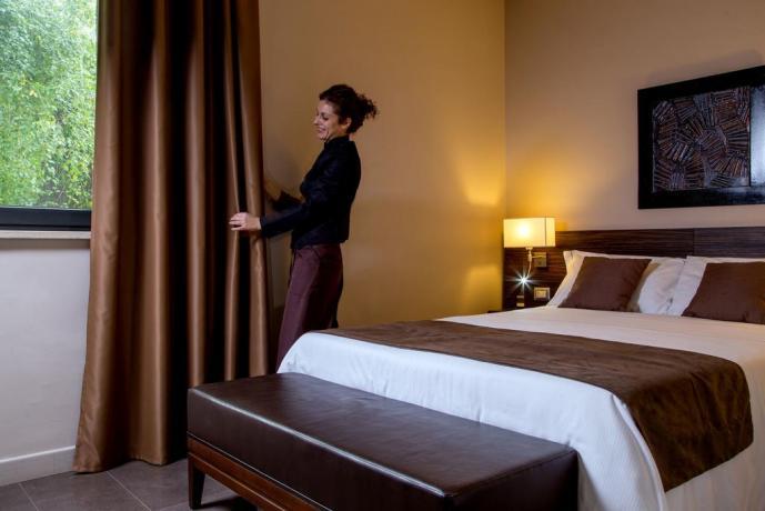 Hotel a 30 minuti da Roma massima-riservatezza