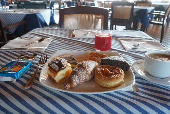 Villaggio con ristorante a buffet