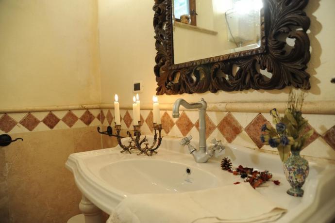 bagno privato appartamento Loggia